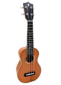 ALL NEW Kamoa® M5-Soprano Deluxe (Ebony)- Standard Soprano (100% Solid Wood)