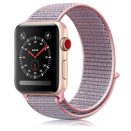 Apple Watch Sport Loop-ranneke Pink Sand