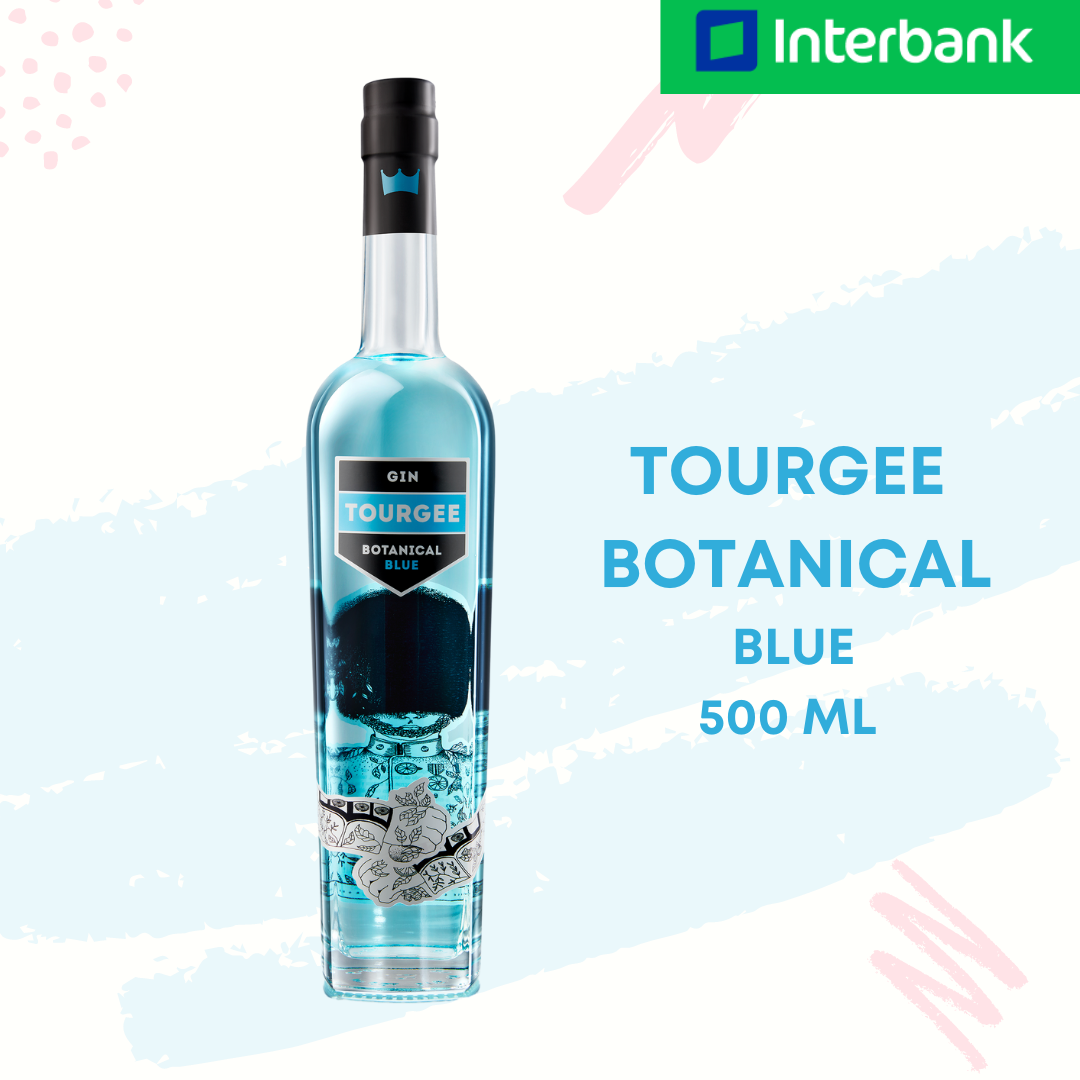 Tourgee Botanical Blue Gin 500 ml / 750 ml