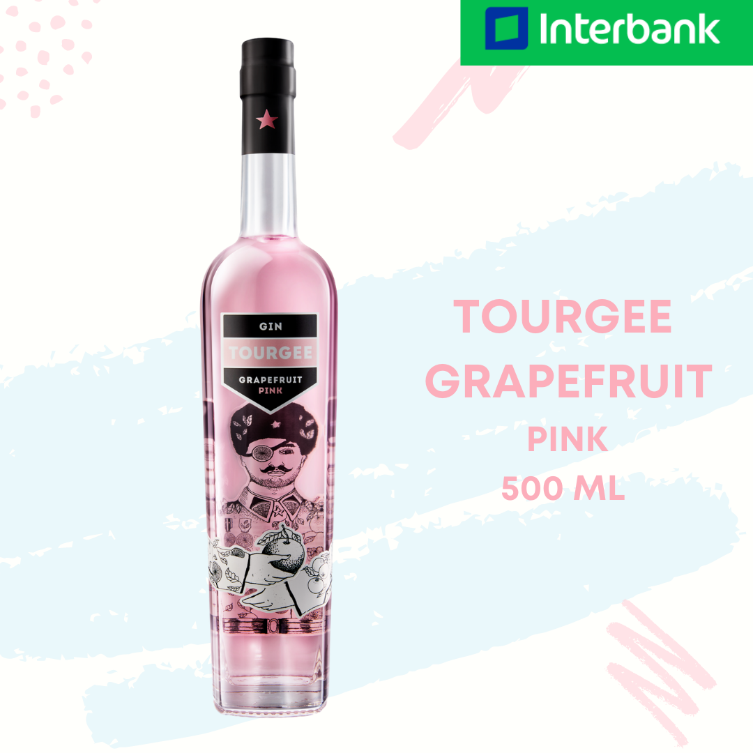Tourgee Grapefruit Pink Gin 500 ml / 750 ml