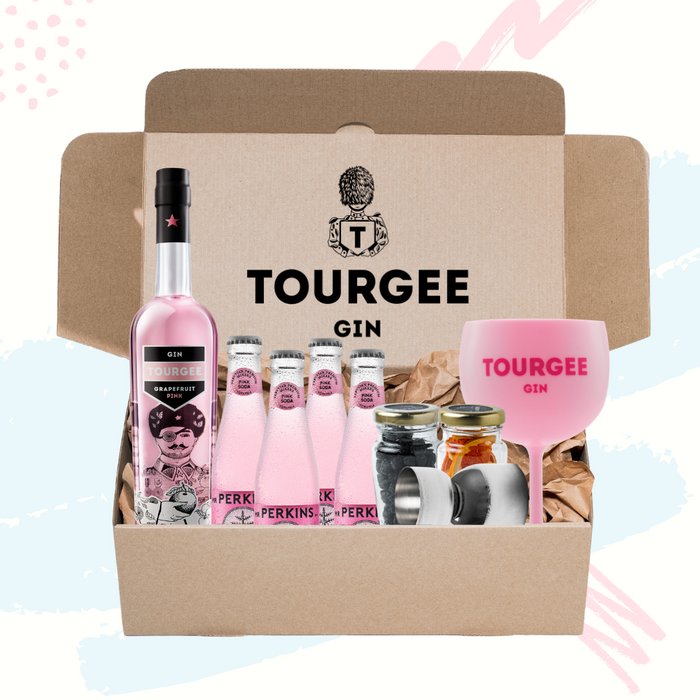 Tourgee Gin London Dry blue