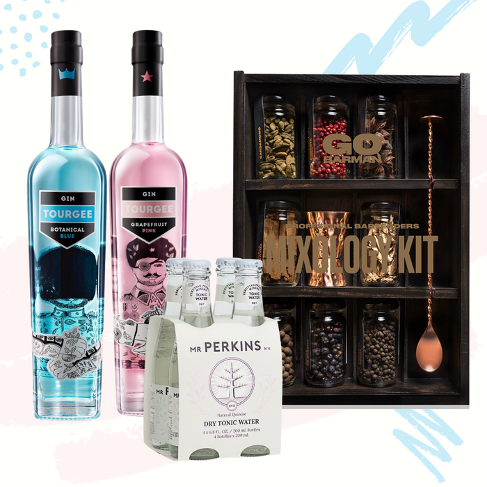 Super pack Gin Mixology Mr perkins