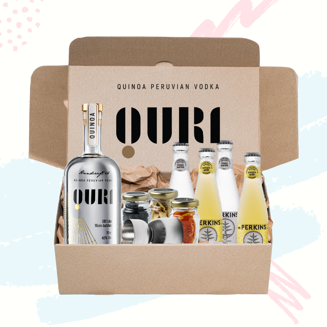 Box Quri Vodka / 700 ml