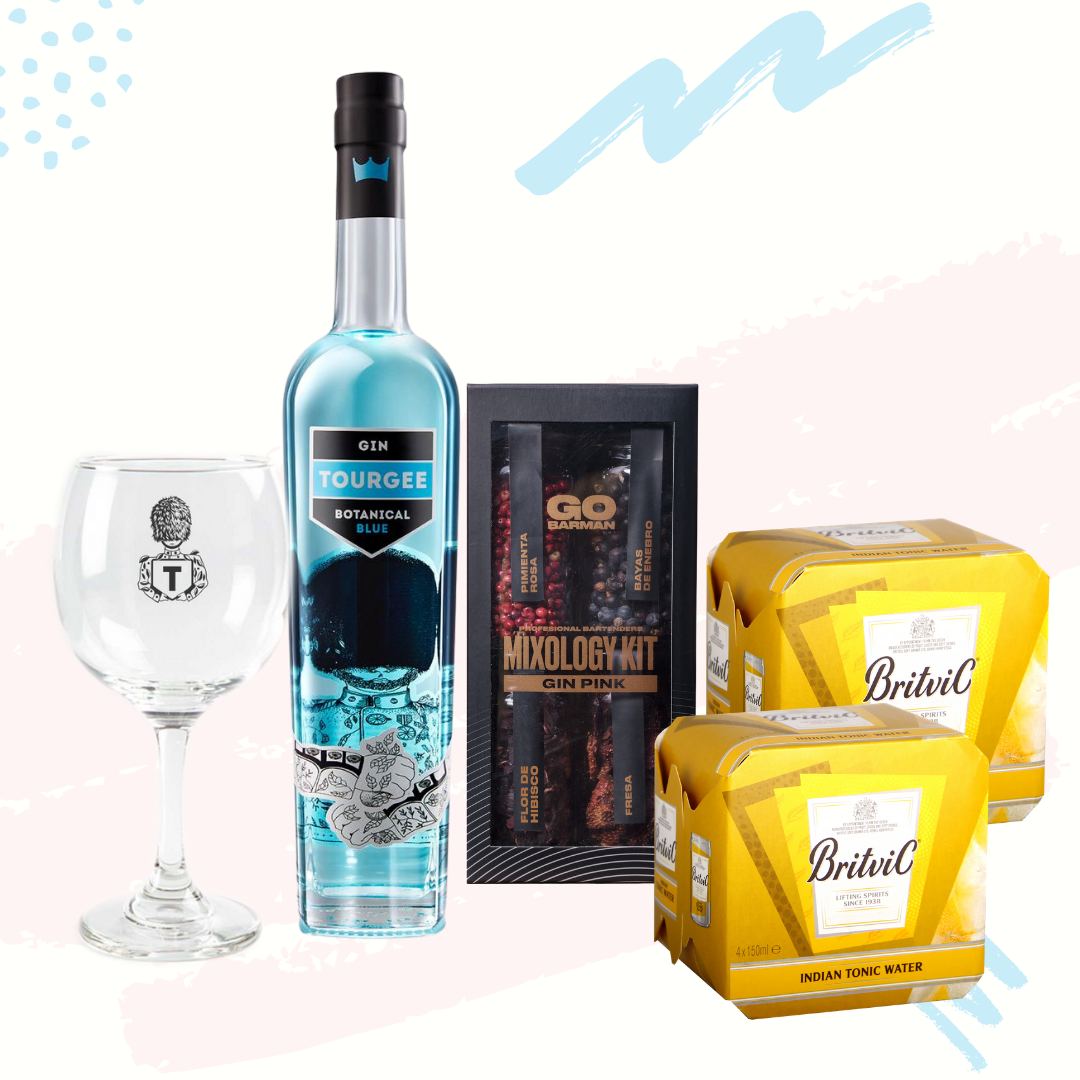 Pack Gin Mixology Blue