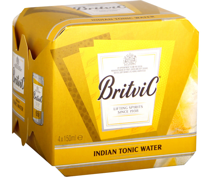 BritviC Tonic Water 4 pack