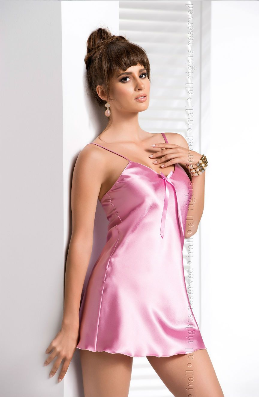 Aria Nightdress Dusty Rose - Lingerie Best Lingerie Eden