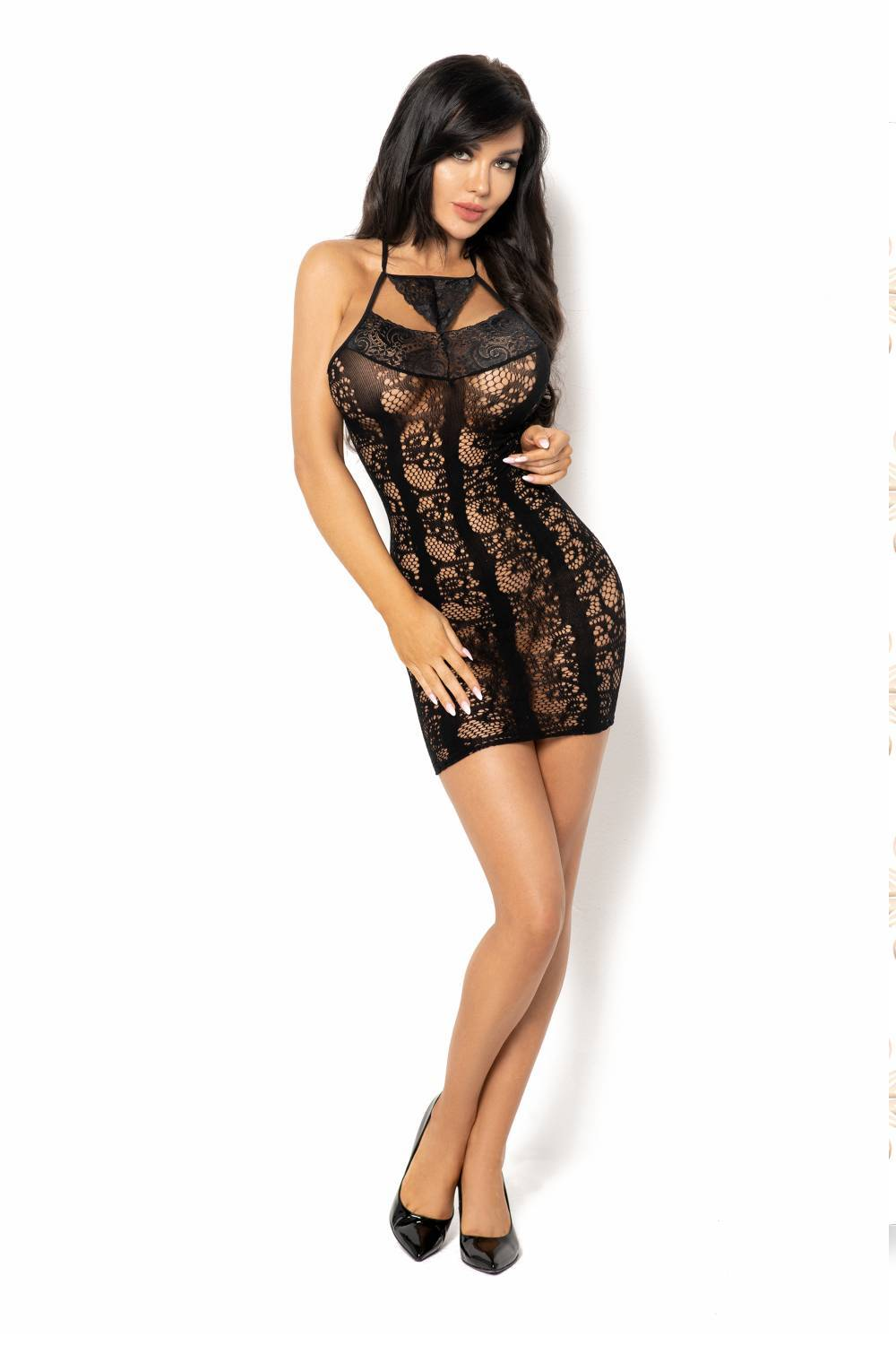 Beauty Night BN6584 Elisabeth - Black / One Size (S-L) -