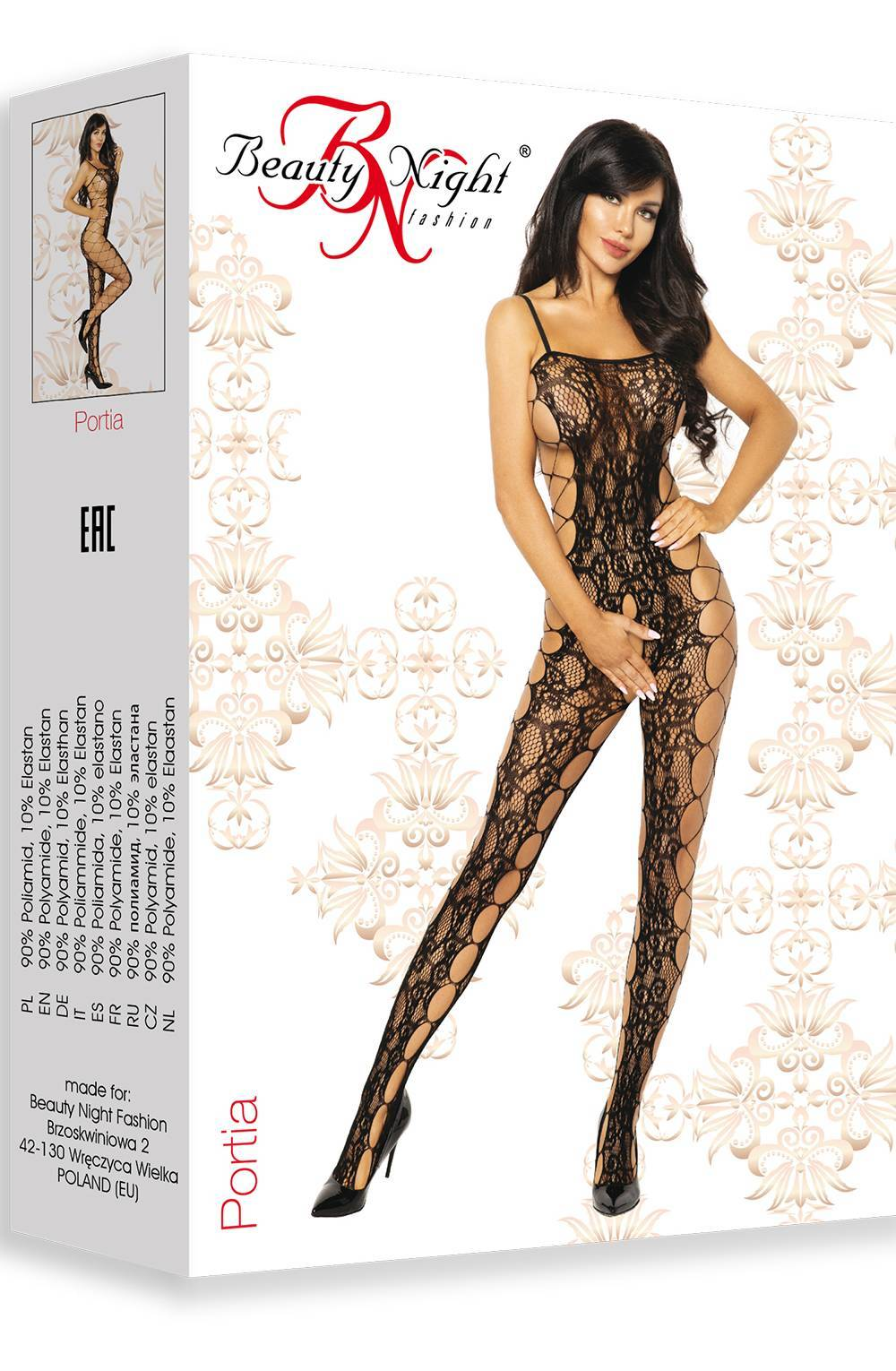 Beauty Night BN6594 Portia - Black / One Size (S-L) -