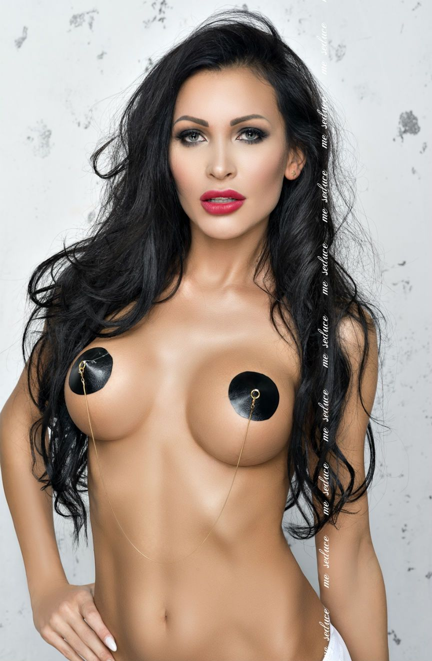 Black Nipple Covers - Black / One Size - Lingerie Best