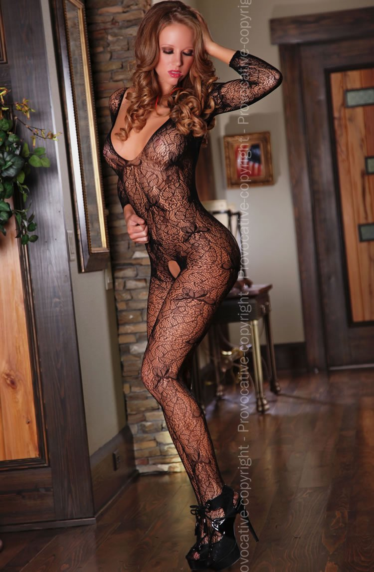 Bodystocking - Black / One Size - Lingerie Best Lingerie