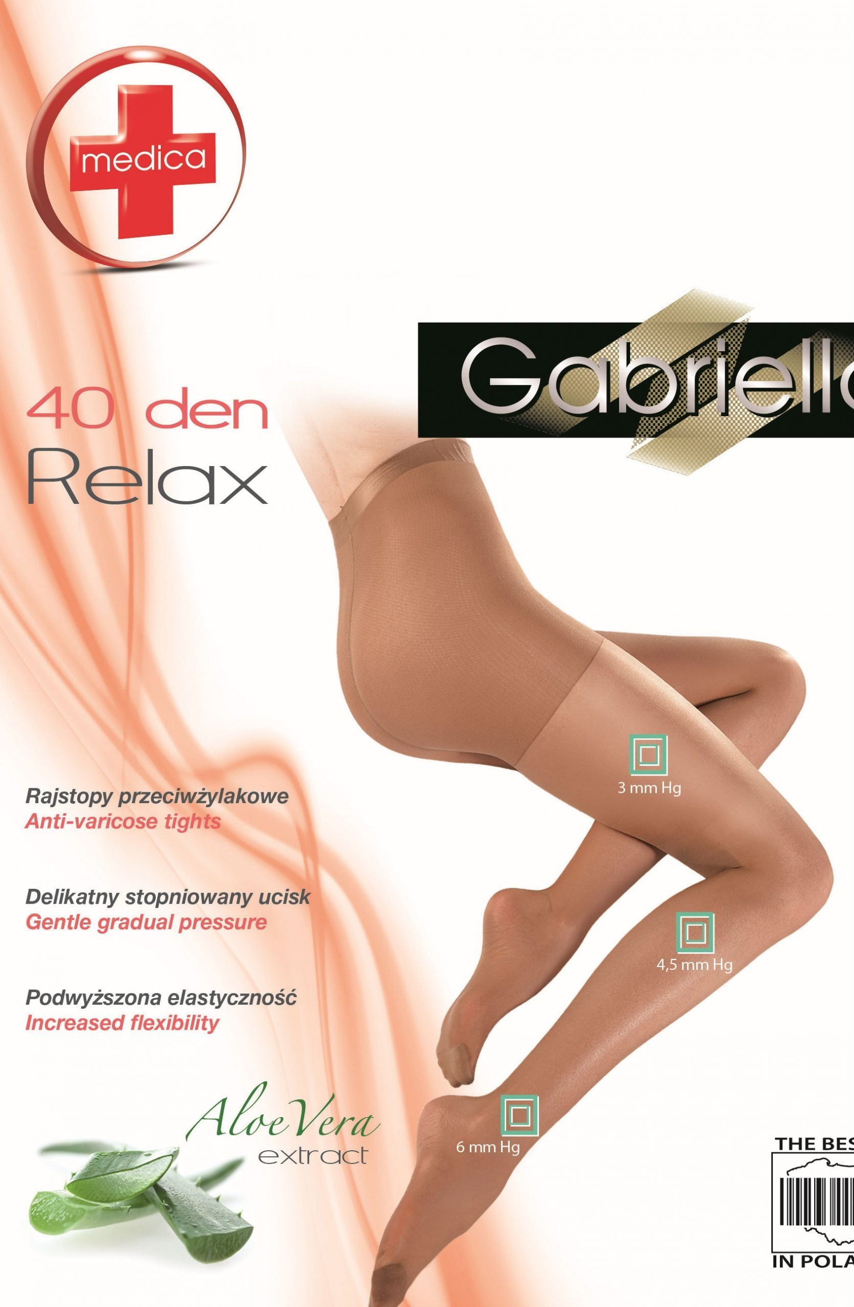 Classic Medica Relax 40 Tights Gazela Beige - Lingerie Best