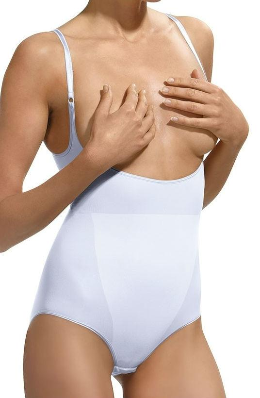 Control Body 510184P Open Bust Shaping Body Bianco -