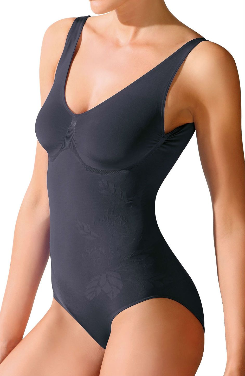 Control Body 510199BE Shaping Swimming Costume Nero -