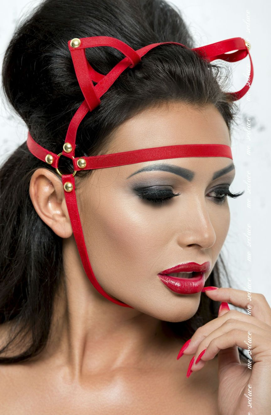 Mask Red - Red / One Size - Lingerie Best Lingerie Eden