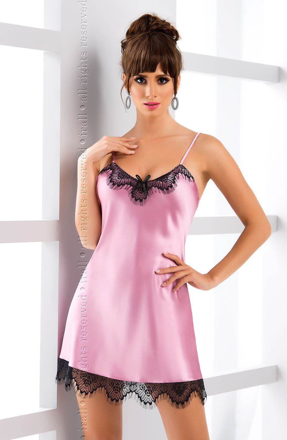 Molly Nightdress Dusty Rose - Lingerie Best Lingerie Eden