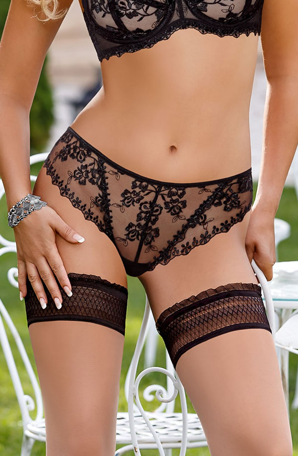 Roza Kalisi Brief Black - Lingerie Best Lingerie Eden