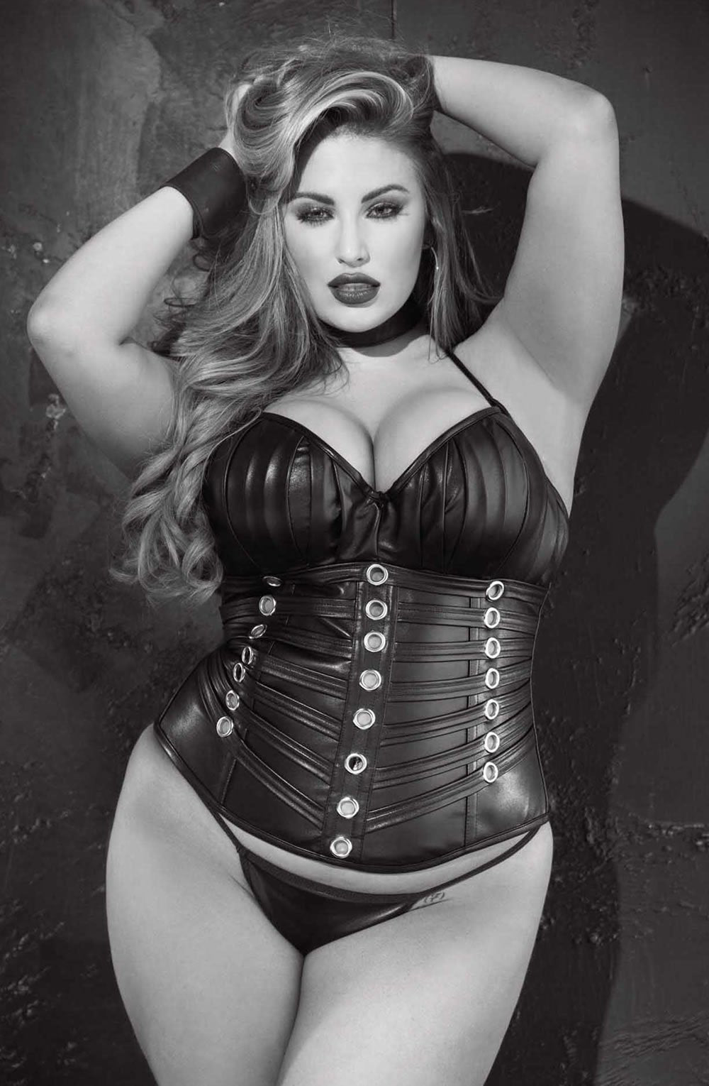 Shirley of Hollywood SoH X31065 - Corset Faux leat -