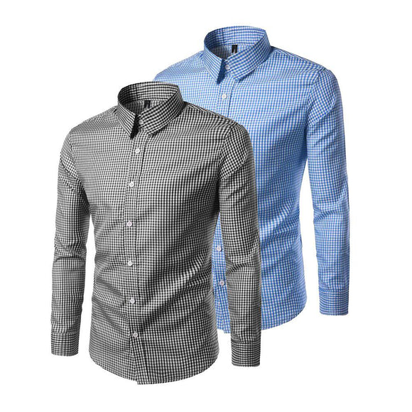 Pack of 2 Slim Fit Premium Quality Casual Shirt