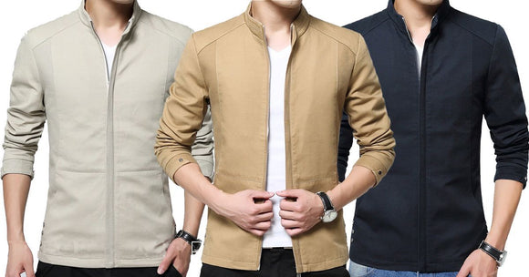 Combo of 3 New Fashionable Solid Casual Men Stylish Shirts