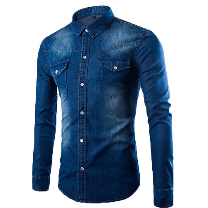 35c47760903 ... Combo of 3 Fashionable Style long sleeves Casual Slim Fit Wash Style  Shirts for Men ...