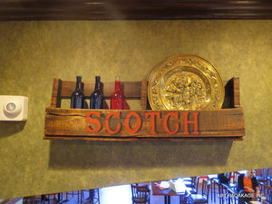 BAR SHELF - SCOTCH