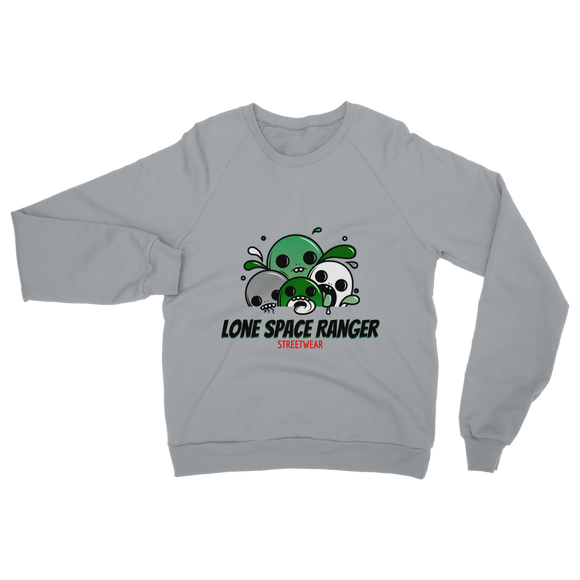 Lone Space Ranger Pine Green Classic Adult Sweatshirt - Lone Space Ranger