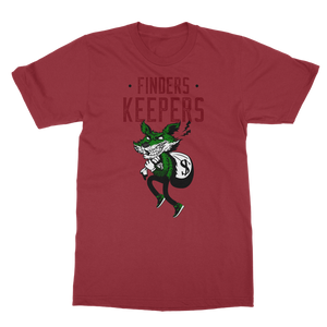 Finders Keepers Pine Green Classic Adult T-Shirt - Lone Space Ranger