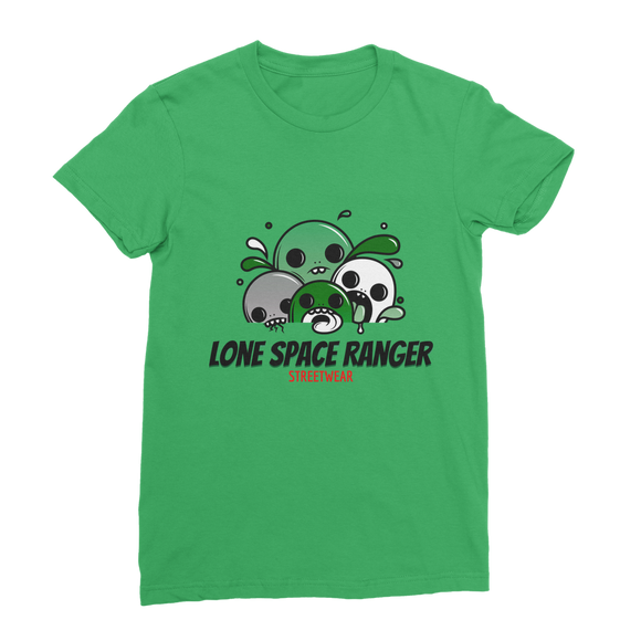 Lone Space Ranger Pine Green Classic Women's T-Shirt - Lone Space Ranger