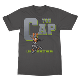 You Cap Retro 4 Neon Classic Adult T-Shirt - Lone Space Ranger