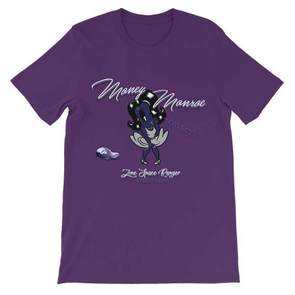 Money Money Purple Classic Kids T-Shirt - Lone Space Ranger