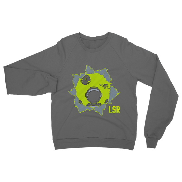 Still Here Neon Classic Adult Sweatshirt - Lone Space Ranger