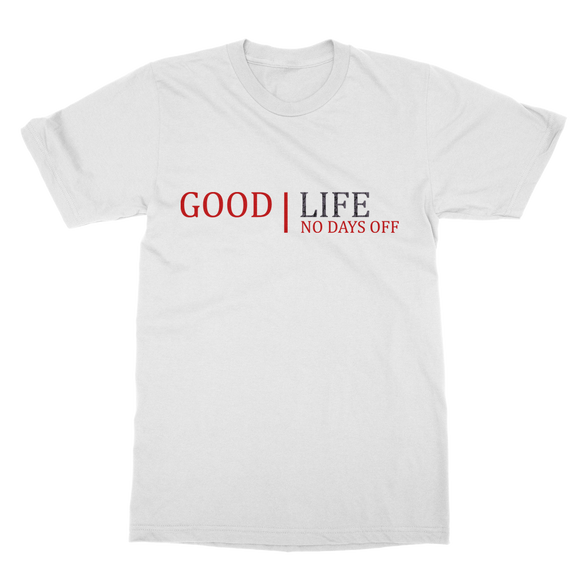 Good Life No Bad Days Ret 3 Classic Adult T-Shirt