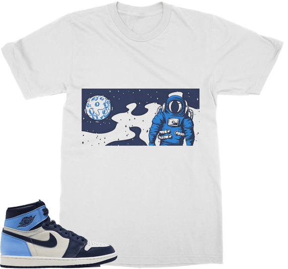 UNC Space Classic Adult T-Shirt