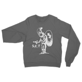 SET Stick Up Kidd White Classic Adult Sweatshirt - Lone Space Ranger