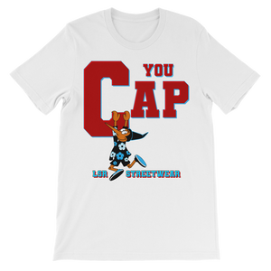 You Cap UNC To Chi (Blk/White) Classic Kids T-Shirt - Lone Space Ranger