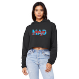 Mad Money UNC To Chi Unisex Cropped Raw Edge Boyfriend Hoodie - Lone Space Ranger