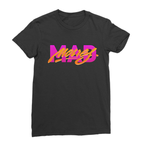 Mad Money Retro 7 Blk Classic Women's T-Shirt - Lone Space Ranger