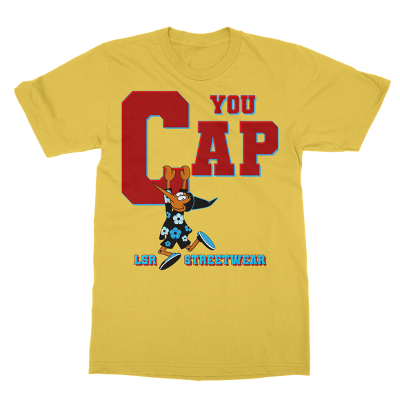 You Cap UNC To Chi (Blue) Classic Adult T-Shirt - Lone Space Ranger