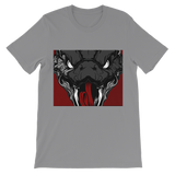 Copy of Snake Head Retro 1 (Gray) Classic Kids T-Shirt - Lone Space Ranger