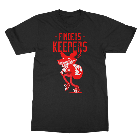 Finders Keepers Ret 1 Classic Adult T-Shirt - Lone Space Ranger