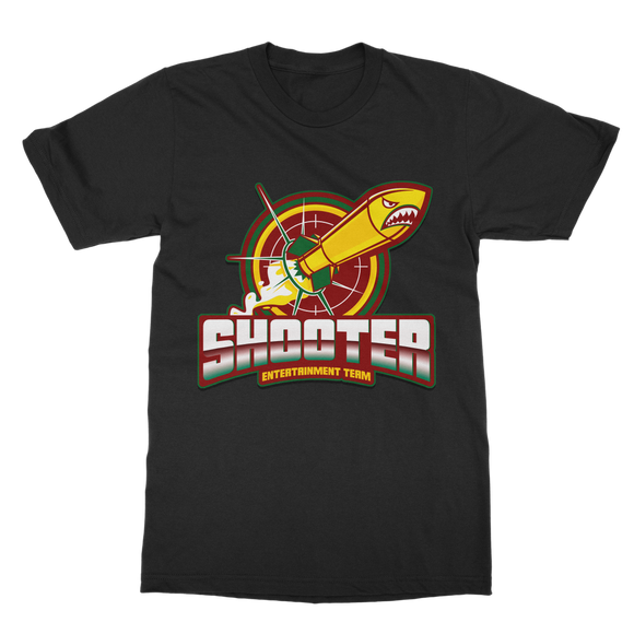 Shooter Ent. Team Rasta Classic Adult T-Shirt - Lone Space Ranger