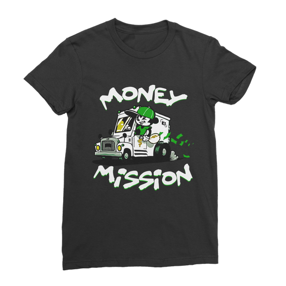 White Money Mission Classic Women's T-Shirt - Lone Space Ranger
