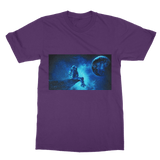 Earth Daze Blue Classic Adult T-Shirt - Lone Space Ranger