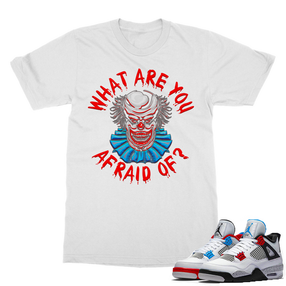 What Are You Afraid of Retro 4 Classic Adult T-Shirt - Lone Space Ranger
