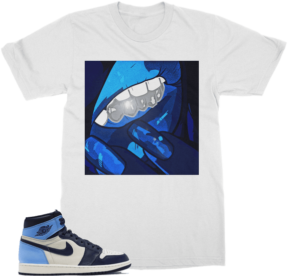 UNC Trill Lip Classic Adult T-Shirt - Lone Space Ranger