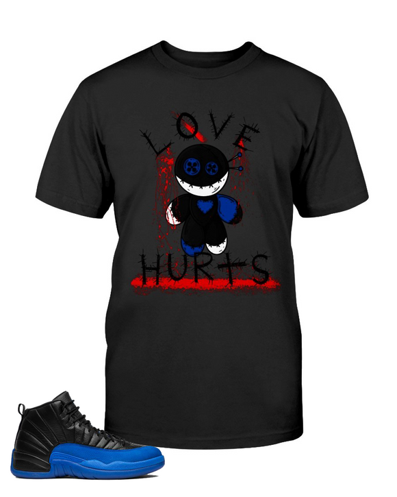 Men's Love Hurts Retro 12 Royal - Lone Space Ranger