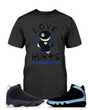 Men's Love Hurts Racer Blue - Lone Space Ranger
