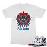 What The Retro 4 Free Spirit Classic Adult T-Shirt - Lone Space Ranger