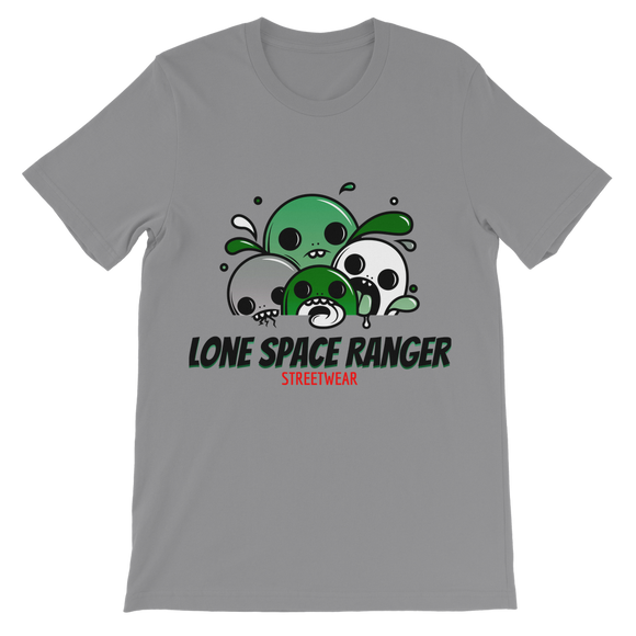 Lone Space Ranger Pine Green Classic Kids T-Shirt - Lone Space Ranger