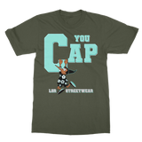 You Cap Island Green Retro 13 Classic Adult T-Shirt - Lone Space Ranger